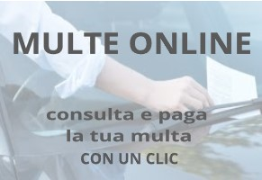 Accedi al portale Multe Online